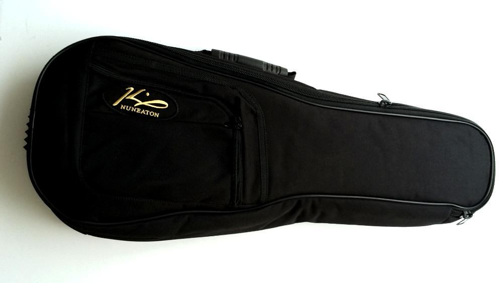 ukulele gig bag case with King logo