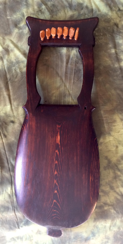 back of kravik lyre